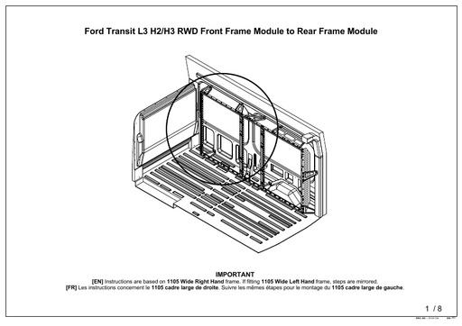 820mm Wide Front Frame